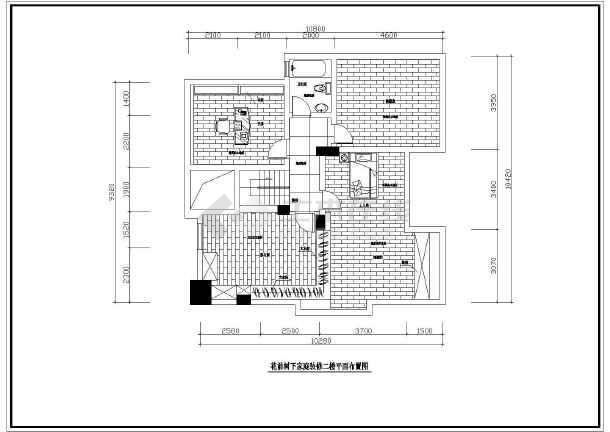 [苏州]别墅家庭装修cad施工设计图纸图纸工程量清单增加变更后图片