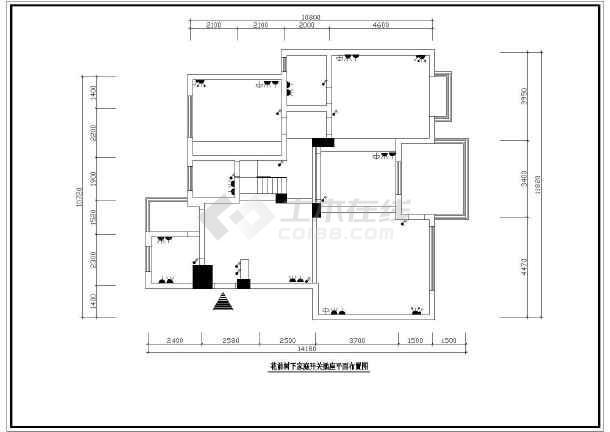 [苏州]别墅家庭装修cad施工设计煤机图纸太重采图纸图片