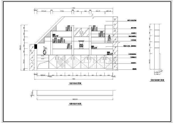 [苏州]图标家庭装修cad施工设计图纸什么电别墅是图纸上JY消图片