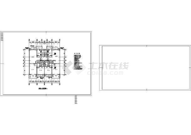 某地区带车库多层住宅建筑图-图1