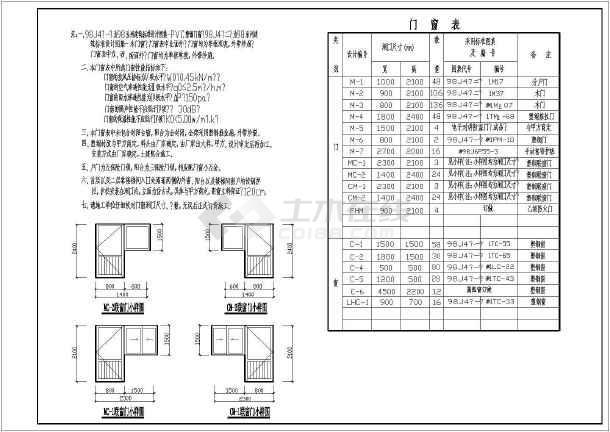 某地区带车库多层住宅建筑图-图2