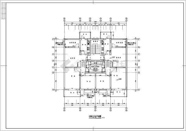 某地区带车库多层住宅建筑图-图3