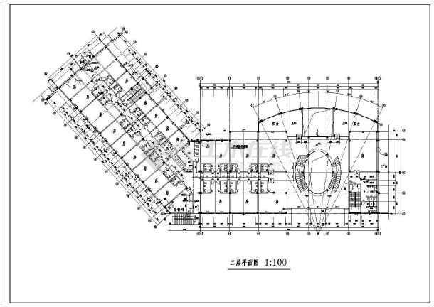 某地区全套会所建筑图-图2