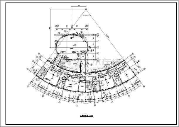 某地区全套多层住宅建筑图-图1