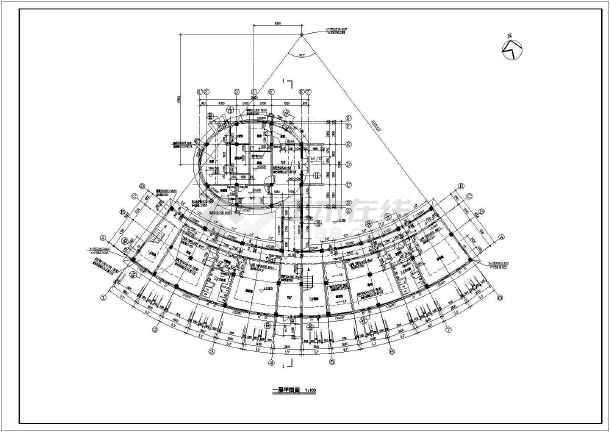 某地区全套多层住宅建筑图-图2