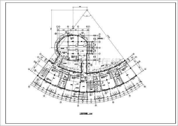 某地区全套多层住宅建筑图-图3