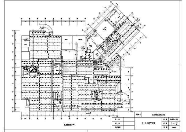 带地下室宾馆给排水全套cad设计施工图-图1