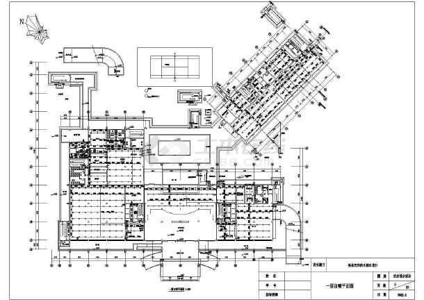 带地下室宾馆给排水全套cad设计施工图-图2