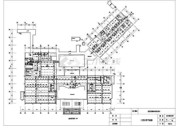 带地下室宾馆给排水全套cad设计施工图-图3
