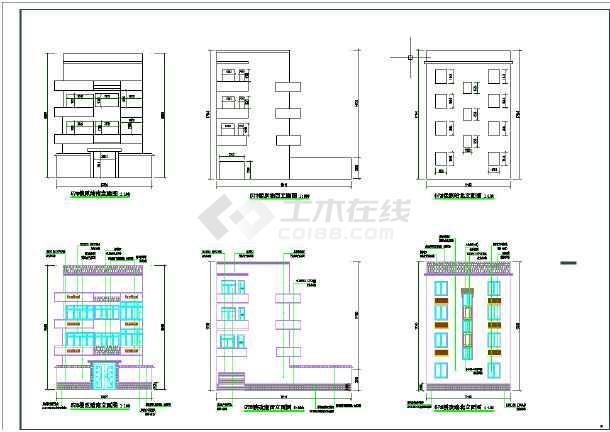 孔庙新村建筑立面改造工程施工图-图3