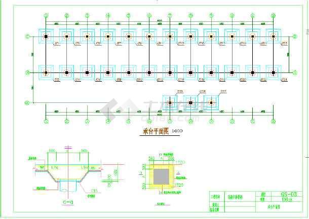 5层,2000平米左右框架高中教学楼毕业设计-图1