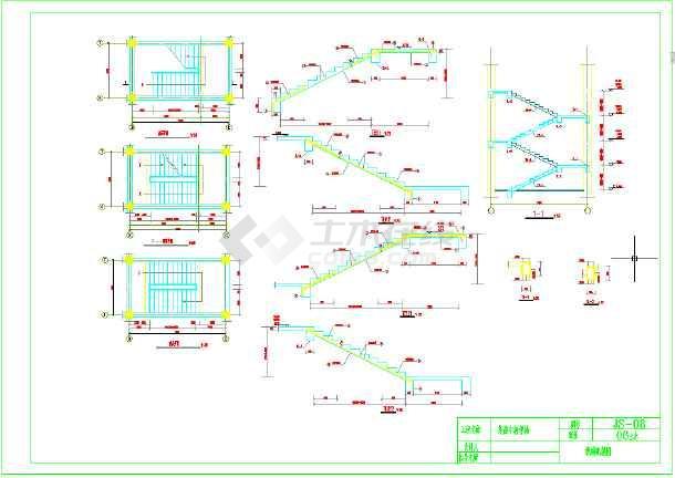 5层,2000平米左右框架高中教学楼毕业设计-图3