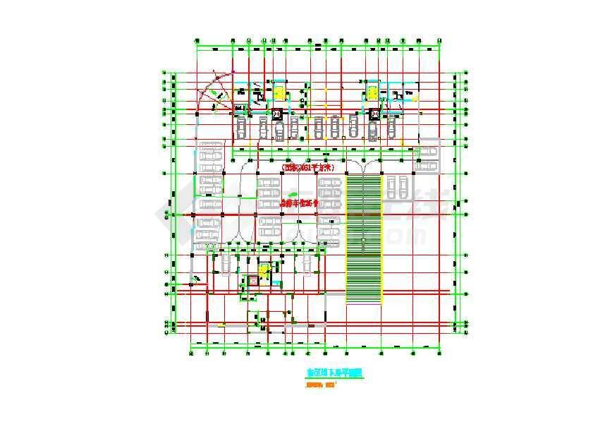 某基坑围护结构设计图(标注详细)