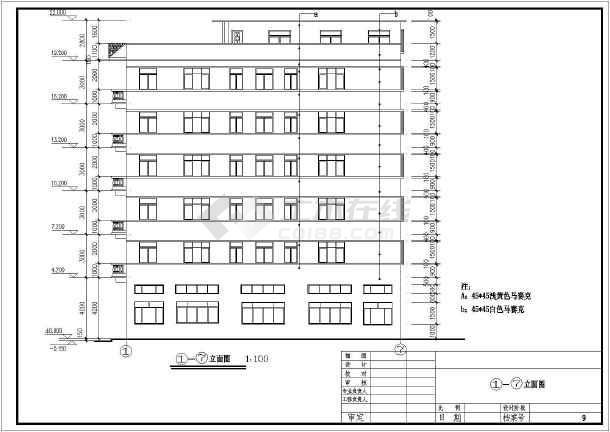 多种出租屋建筑设计全套cad图纸