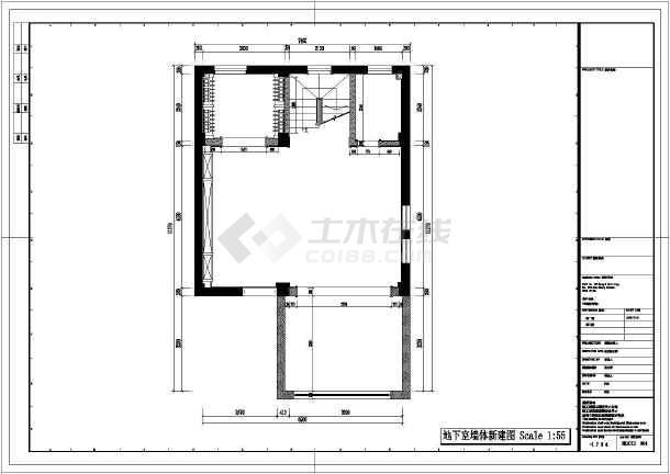 某地欧式风格的别墅室内设计施工CAD图-图1