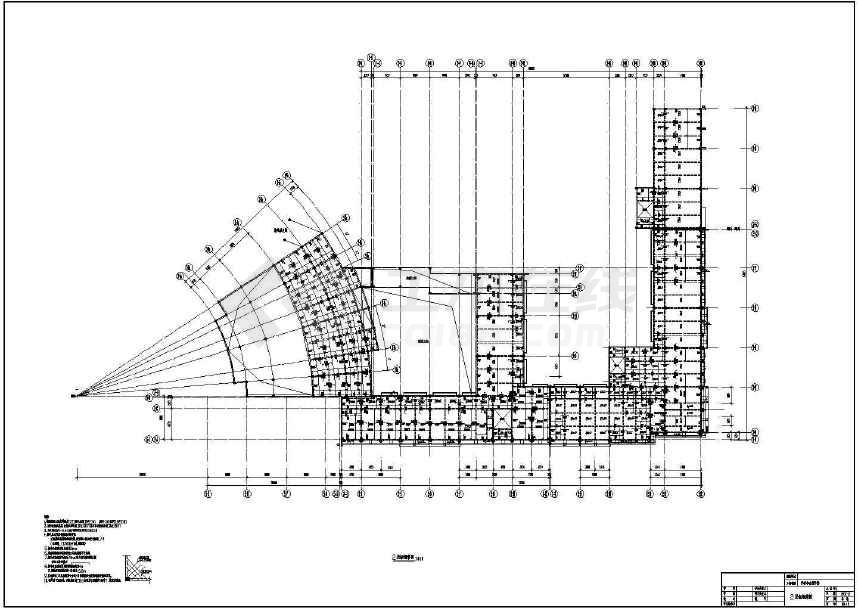 某地多层学校小学部结构图(共19张)