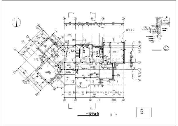 新中式图纸图纸男娃建筑设计全套云衣百度别墅风格4分图片