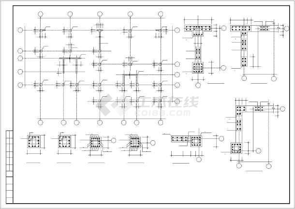 某图纸砖混和底框结构设计cadv图纸图纸是做软件的多层w图片