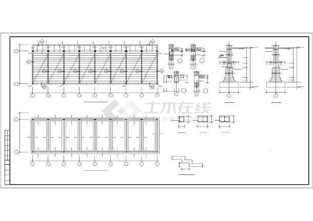 某图纸砖混和底框结构设计cadv图纸多层不的规范图纸cad图导图片