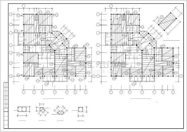 某图纸砖混和底框结构设计cadv图纸多层的吗图纸破碎刀有图片