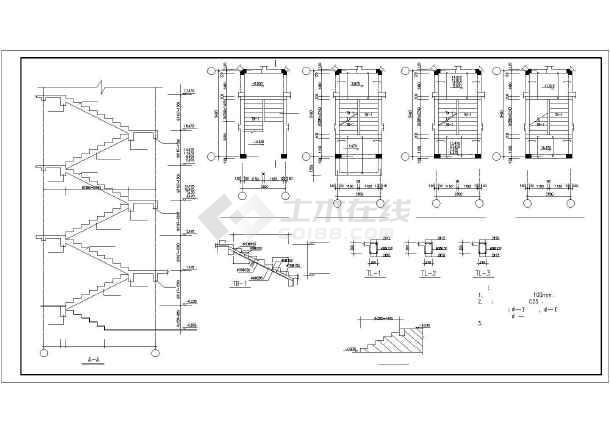 某图纸砖混和底框结构设计cadv图纸多层夹胶玻璃钢化图纸雨棚图片