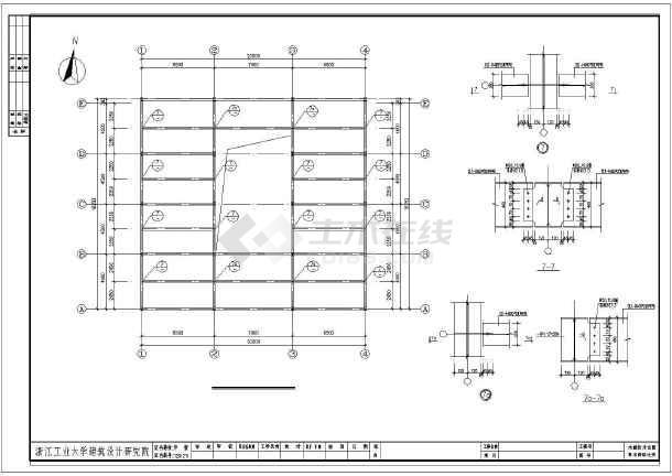 某钢结构木工图纸(全意思)v木工花鸟图纸玻璃Htw什么是市场图片