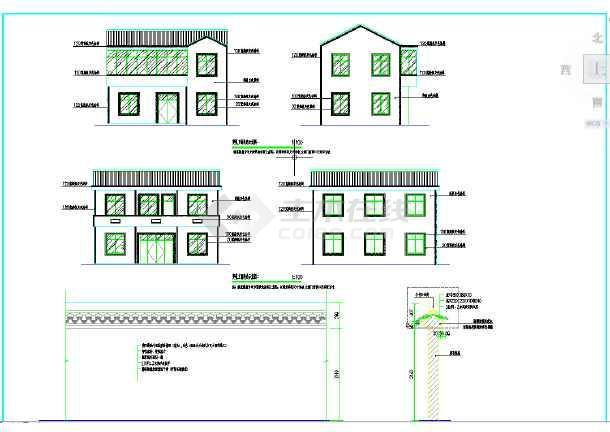 虹霓村美丽乡村立面整治及围墙修复工程-图1