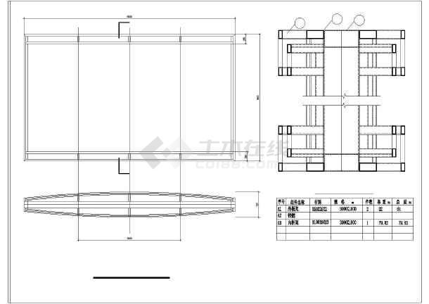 3米高公交候车亭钢结构图纸康佳29808sp图纸图片