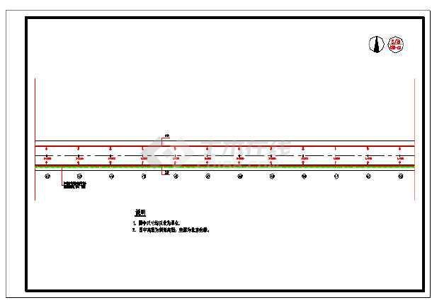 设计精准的城市道路照明工程设计施工图纸-图3