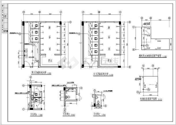 某五层精神病疗养院的cad建筑施工六合无绝对包装设计好就业吗图片