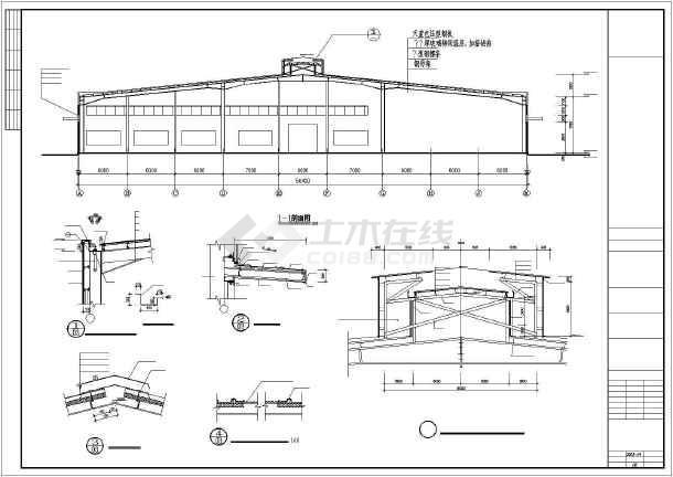 福州某仓库结构图