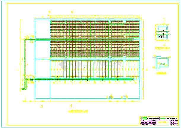 全套CASS工艺污水处理厂部分工艺图纸-图3