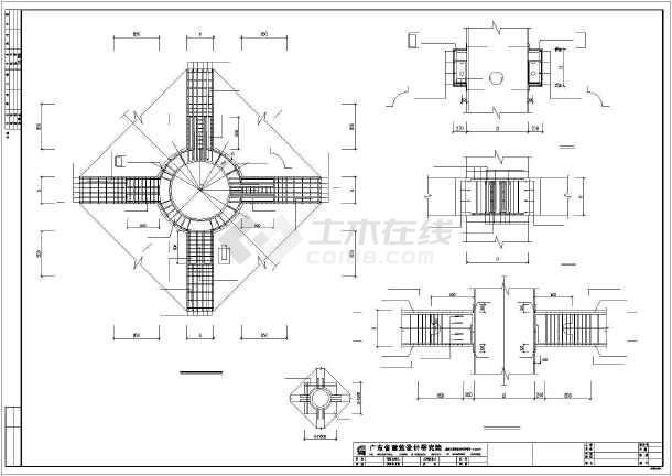 建筑结构cad实用素材图集-图1