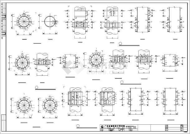 建筑结构cad实用素材图集-图2