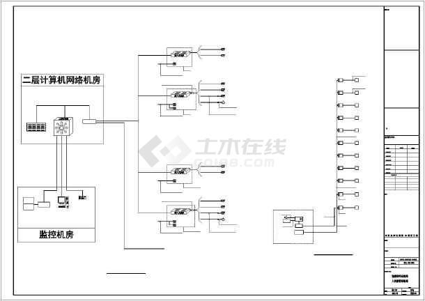 某学校弱电智能电气设计-图1