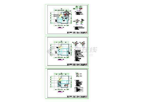 某住宅改造出具的加固改造图纸-图2