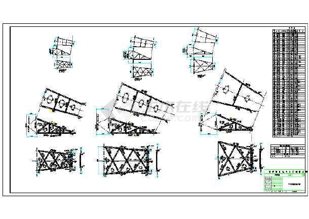 双回路60度铁塔全套结构施工图纸-图3