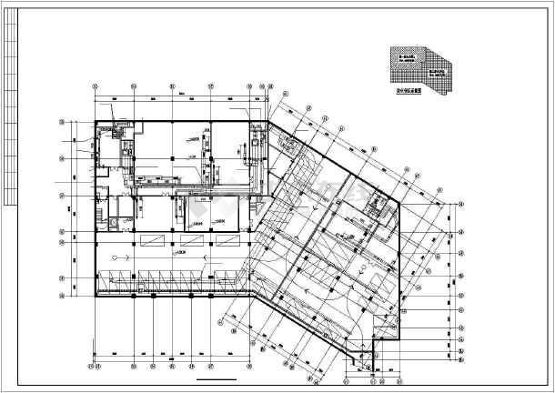 ][江苏]多层公共建筑空调通风系统设计施工图(风冷热泵)-图1
