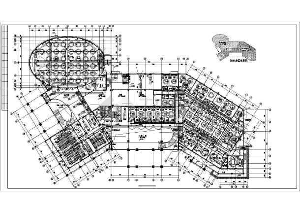 ][江苏]多层公共建筑空调通风系统设计施工图(风冷热泵)-图2