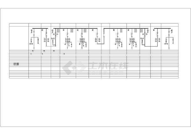 详细高低压配电系统cad方案图纸-图2