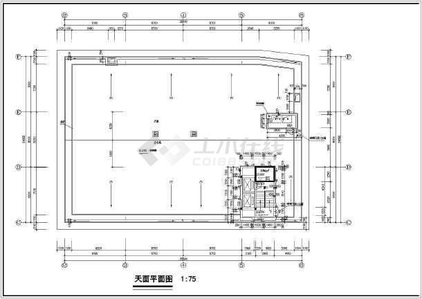 二层平面功能分布图,四层平面功能分布图,天面平面图等;本图设计专业