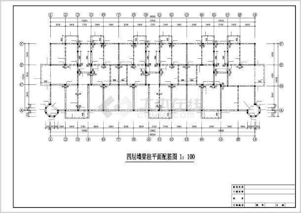 6层底框结构住宅施工图-图2