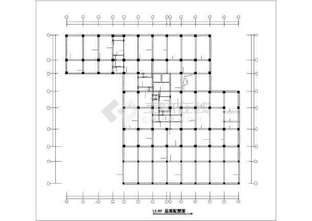 [宜宾]框剪结构公寓酒店施工图-图1