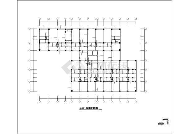 [宜宾]框剪结构公寓酒店施工图-图3