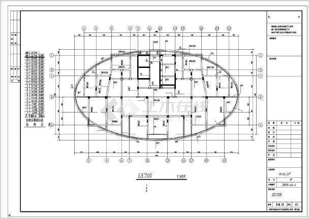 [绍兴]18层框剪结构施工图-图2