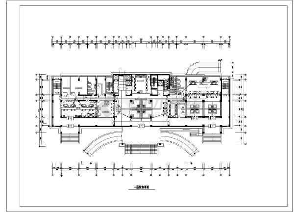 10层某公安局办公楼装修电气cad施工设计图-图2