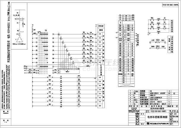 500KV箱式变电站cad施工设计图-图3