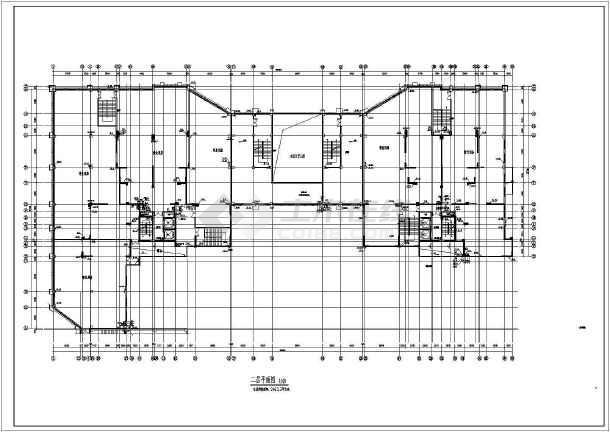 四川二类高层居住建筑给排水消防施工图-图1