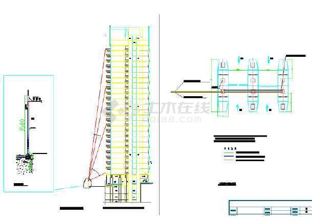 高空抛物和人行道闸安装系统图-图1