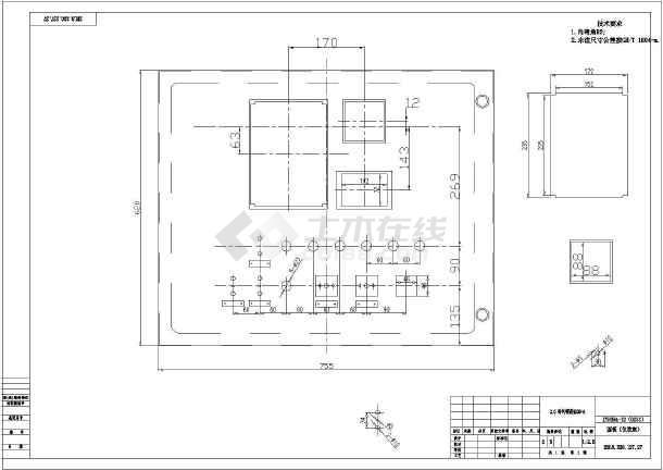 电气综合保护cad图集-图1